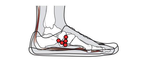 Muskel Schuh
