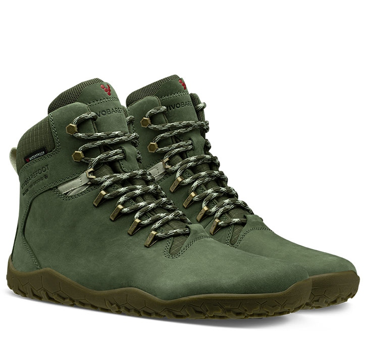 TRACKER FG MENS Leather Botanical Green