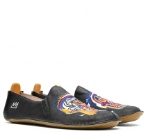 ABABA BASQUIAT WOMENS Black Scull