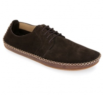 OPANKA LACE Ladies Suede Chocolate