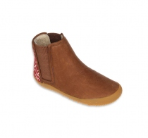 NEPAL Kids Leather Chestnut