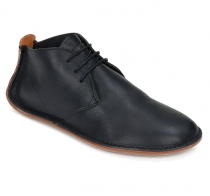 PORTO ROCKER HIGH Mens Leather Black