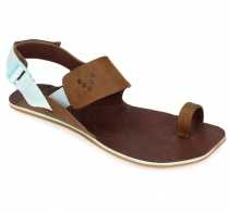 KOLHAPURI Ladies Chestnut/Hide