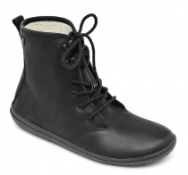 GOBI HI TOP Ladies Leather Black
