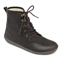 GOBI HI TOP Ladies Leather Dk Brown