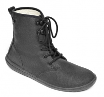 GOBI HI TOP Ladies ECO Canvas Black