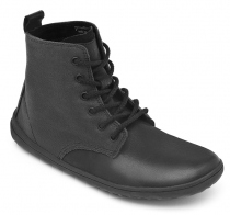 SCOTT Mens Leather Black