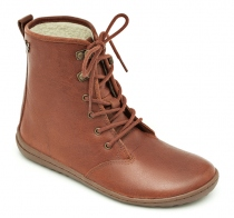 GOBI HI TOP Ladies Leather Tobacco