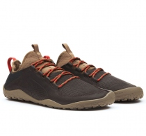 PRIMUS TREK Mens Leather Dk Brown