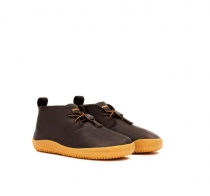 GOBI Kids Leather Dk Brown