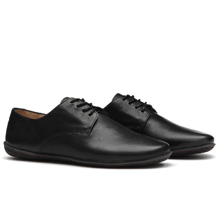 LISBON Ladies Leather Black