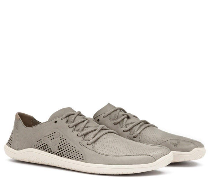 PRIMUS LUX Mens Leather Light Grey