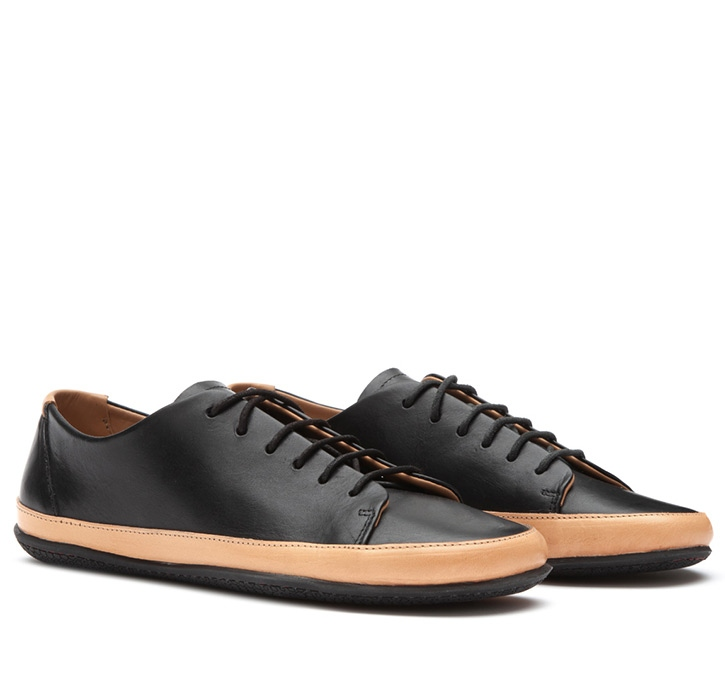 BANNISTER Mens Leather Black