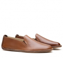PORTO ROCKER SLIP ON Mens Leather Brown