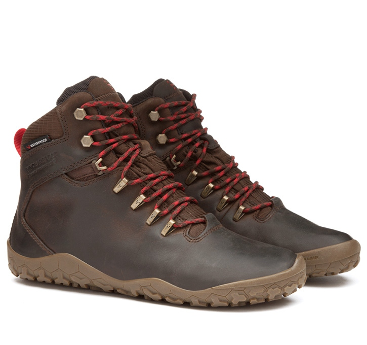 TRACKER FG MENS Leather Dk Brown