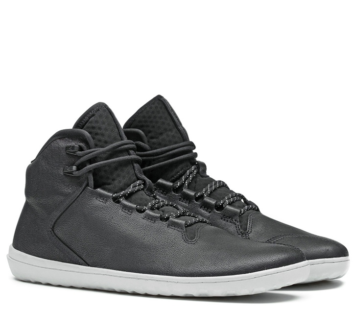 BOROUGH Mens Leather Black