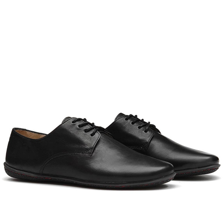 LISBON Mens Leather Black