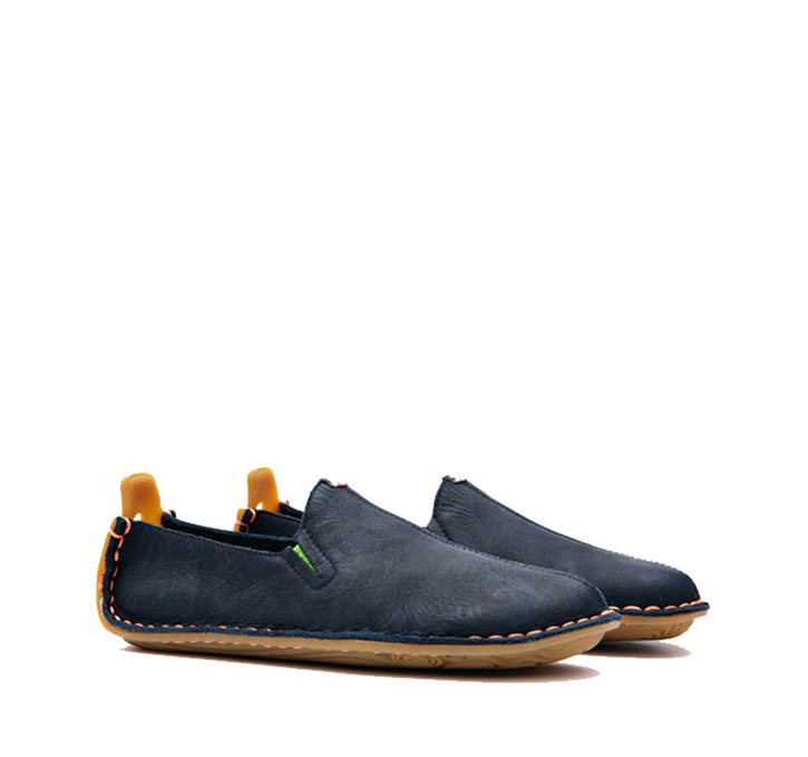 ABABA Kids Leather Navy