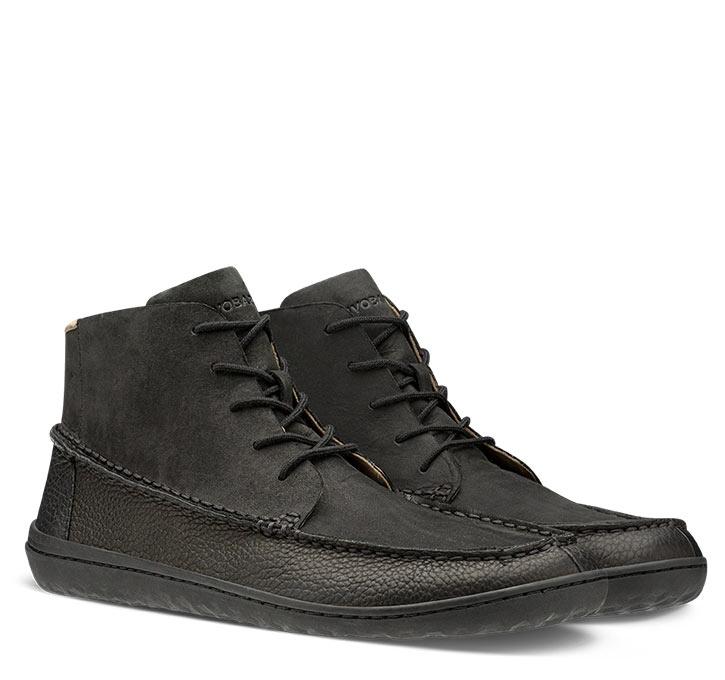 GOBI MOCC MENS Black Leather